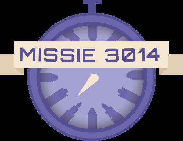 Kompas/stopwatch bij Missie 3014, een online verkeerseducatieproject