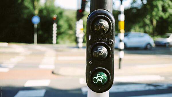 foto van een stoplicht