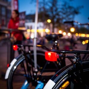 foto achterlicht fiets